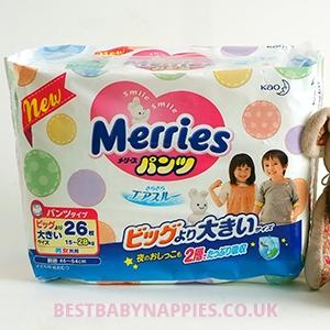 Merries Panties XXL Big (15-28kg)