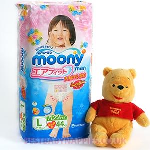 Moony girls Panties L (9-14 kg)