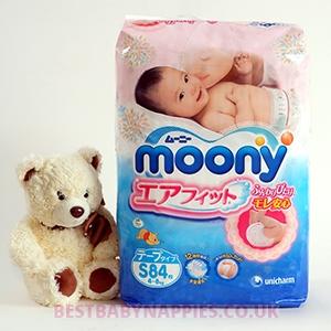 Moony S (4-8 kg)