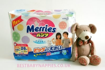 XXL MERRIES Nappies PULL-UP 12-25kg with Sale Price – buy on